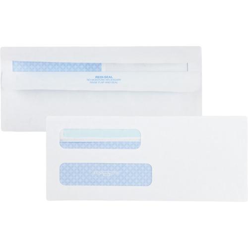 Quality Park Double Window Redi-Seal Envelopes