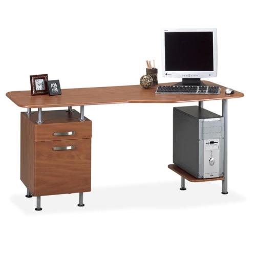 Mayline Compact Box/File Desk Computer Workstation