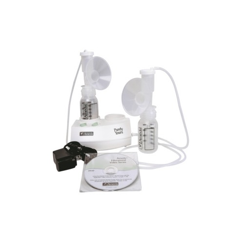Purely Yours Breast Pump with 2 Bottles Dual Kit