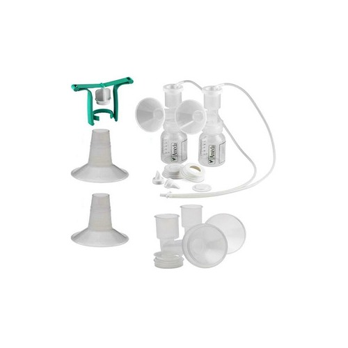 Dual HygieniKit Milk Collection System with CustomFit