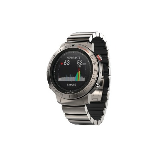 GARMIN 010-01957-01 fenix(R) Chronos GPS Watch (Titanium