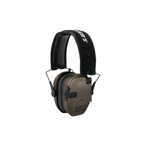 WALKERS GAME EAR GWP-RSEM-FDE Razor Series(TM) Slim Shooter Electronic Folding Muff (Flat Dark Earth)