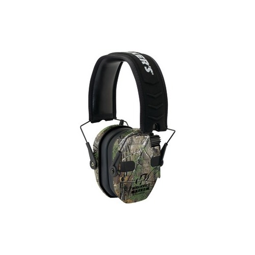 WALKERS GAME EAR GWP-RSEQM-CMO Razor(R) Series Slim Realtree(R) Xtra Electronic Quad Muff