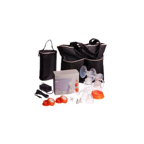Hygeia Q Breast Pump with Deluxe Tote,