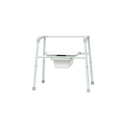 Bariatric Commode Extra Wide Seat 27-1/2