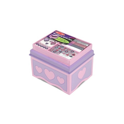 JEWELRY BOX DECORATE YOUR OWN