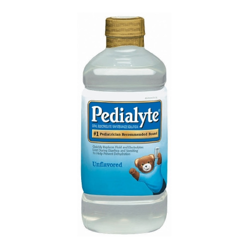 Pediatric Oral Supplement Pedialyte Unflavored 1000 mL