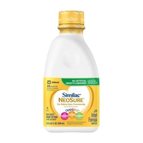 Infant Formula Similac NeoSure 32 oz. Bottle
