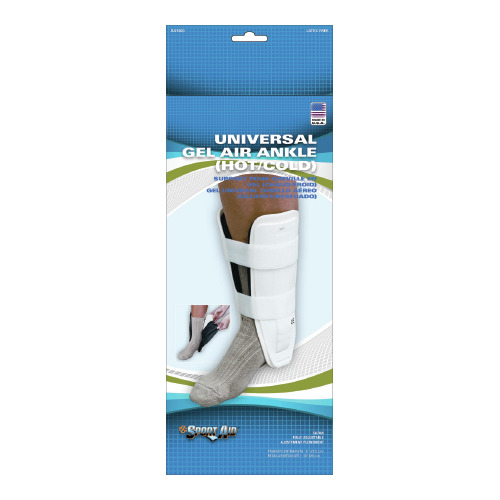 Ankle Support Sport-Aid Short, Trainer Hook and