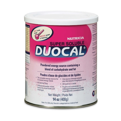 High Calorie Supplement Duocal Unflavored 14 oz.