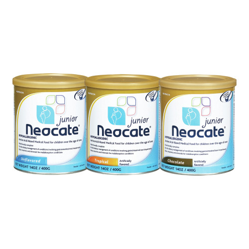 Pediatric Oral Supplement Neocate Unflavored 400 Gram