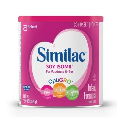 Infant Formula Similac Soy Isomil 12.4 oz.
