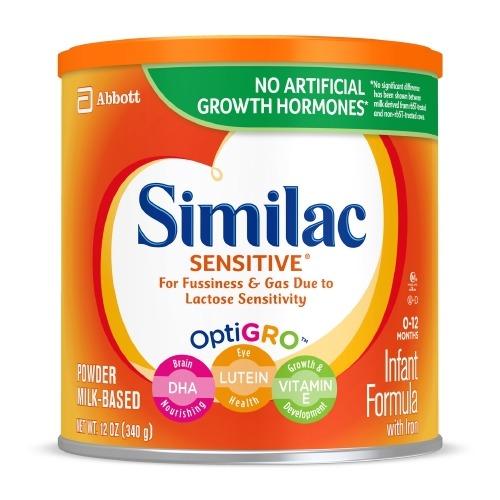 Infant Formula Similac Sensitive 12.6 oz. Can