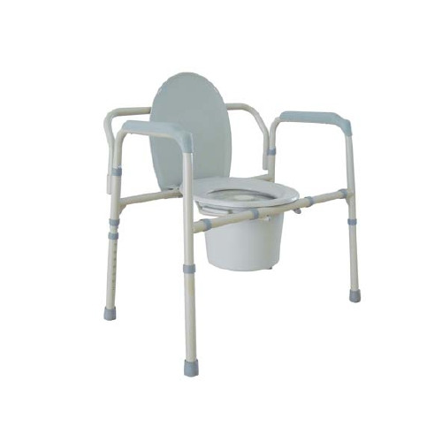 Bariatric Commode With Arms Steel 21 Inch