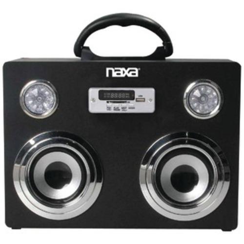 NAXA NAS-3043 Portable Bluetooth Sound System &