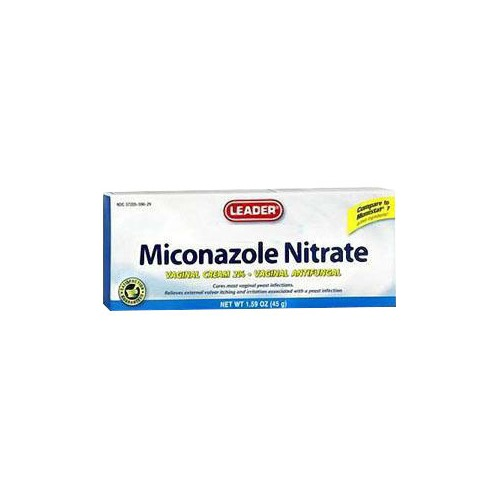 Leader Miconazole Nitrate Vaginal Cream, 1.59 oz.