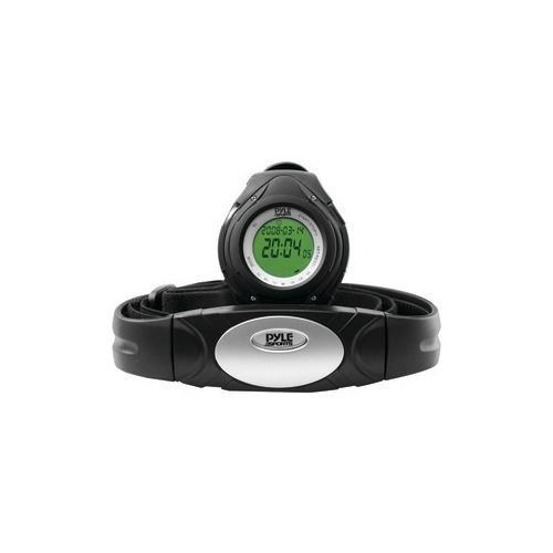 PYLE PHRM38BK Heart Rate Monitor Watch (Black)
