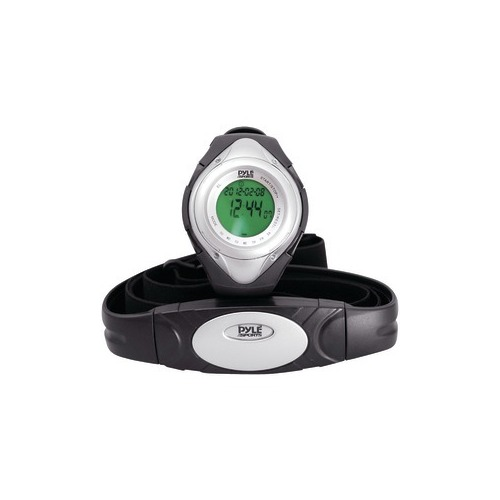 PYLE PHRM38SL Heart Rate Monitor Watch (Silver)