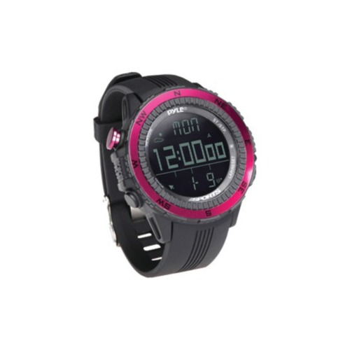 PYLE PSWWM82PN Digital Multifunction Active Sports Watch