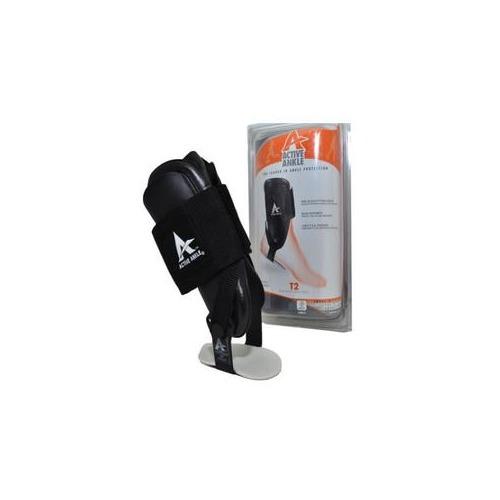 Active Ankle T2 Rigid Ankle Brace, Black,