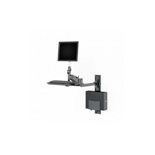 Wall Mounted Computer Workstation