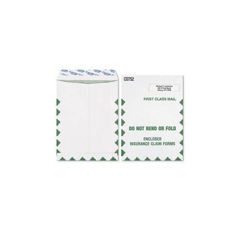 Grip-Seal Medical Claim Form Window Envelope/1st Cl.
