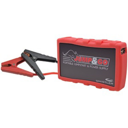 JUMP & GO BY WHISTLER WJS-3000R Jump & Go Portable Jump Starter (Red)